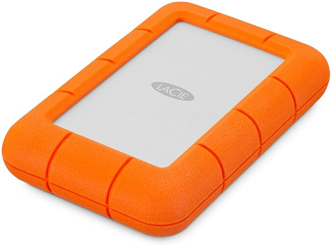LaCie Rugged Mini 4TB External Hard Drive Portable HDD
