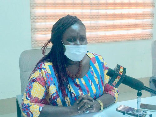 • Dr Akosua Sarpong — Central Regional Director for Ghana Health Service