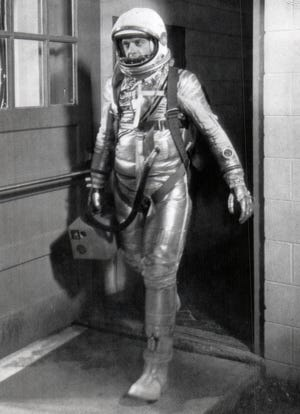 Alan Shepard was the first American to enter space in 1961.