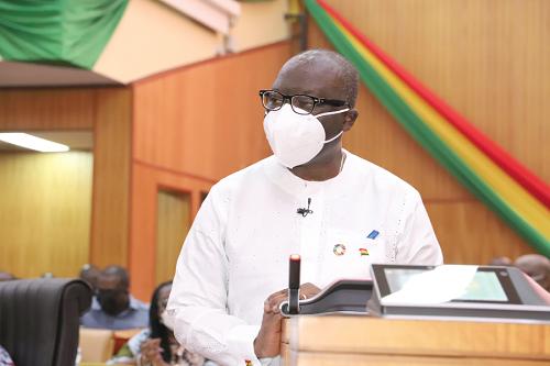 Mr Ken Ofori-Atta — Minister of Finance