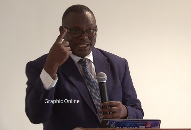 Taxation Law lecturer, Practitioner and Author, Dr. Abdallah Ali-Nakyea