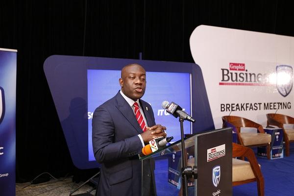 The Minister of Information, Kojo Oppong Nkrumah